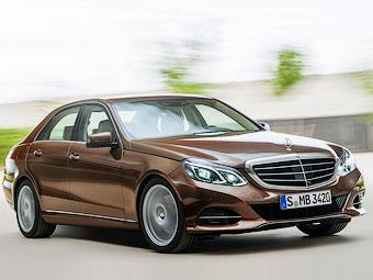 Появились первые фотографии обновленного Mercedes-Benz E-Class