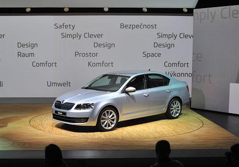 В России Skoda Octavia нового поколения появится в середине 2013 года