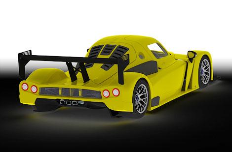 Компания построила карбоновый 380-сильный спорткар