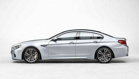 В интернете рассекретили внешность модели M6 Gran Coupe