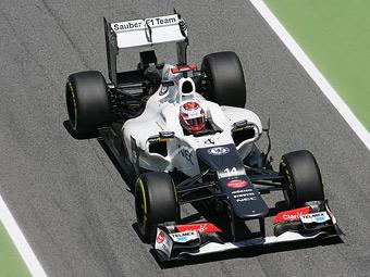 Болид Sauber 2013 года прошел краш-тест
