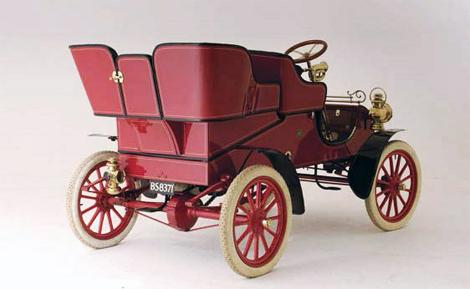 Билл Форд приобрел автомобиль Model A 1903 года выпуска. Фото 1