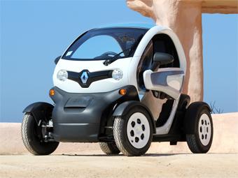Самый маленький электрокар Renault превратят в фургон