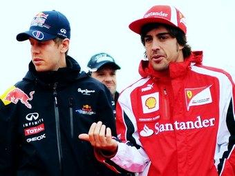 Боссы команд Формулы-1 назвали Алонсо лучшим пилотом года