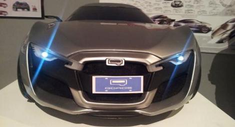 Полноразмерный автомобиль будет показан на Женевском автосалоне марте 2013 года
