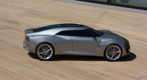 Полноразмерный автомобиль будет показан на Женевском автосалоне марте 2013 года. Фото 1