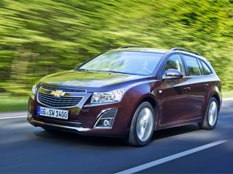 Компания Chevrolet объявила рублевые цены универсала Cruze
