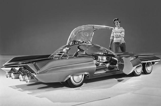 Самые крутые американские концепт-кары шестидесятых. Фото 3