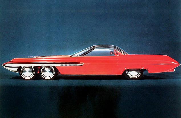 Самые крутые американские концепт-кары шестидесятых. Фото 4