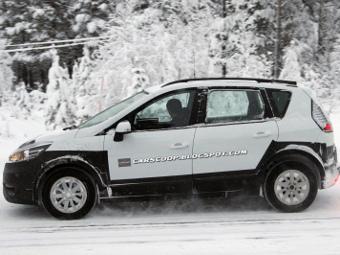 """Компания Renault начала испытания """"вседорожного"""" компактвэна"""