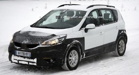 Новый вариант модели Scenic представят в марте 2013 года