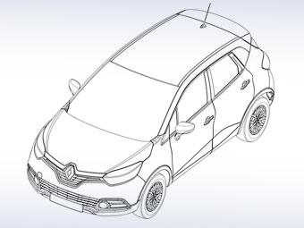 В Сети появились первые изображения вседорожного Renault Clio
