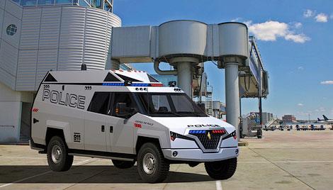 Фирма Carbon Motors разработала машину для полицейских и военных операций
