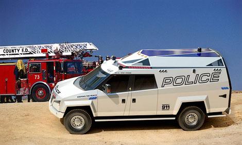Фирма Carbon Motors разработала машину для полицейских и военных операций. Фото 1