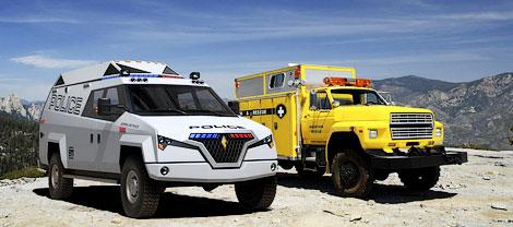 Фирма Carbon Motors разработала машину для полицейских и военных операций. Фото 2