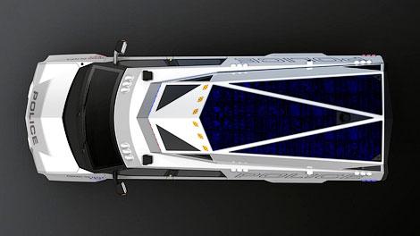Фирма Carbon Motors разработала машину для полицейских и военных операций. Фото 4