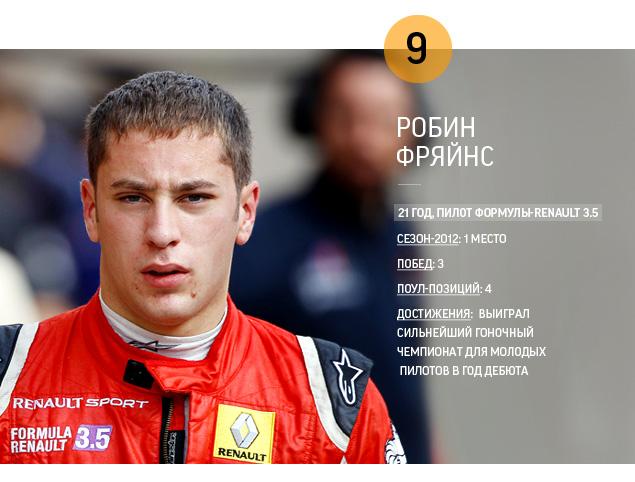 Самые яркие гонщики 2012 года. Фото 1