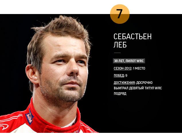 Самые яркие гонщики 2012 года. Фото 3