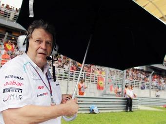 Хауг взял на себя вину за провал Mercedes AMG в Формуле-1