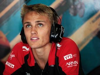 Команда Marussia подтвердила контракт с Максом Чилтоном