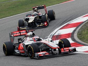 В начале сезона Баттон не считал Ferrari и Red Bull претендентами на титул