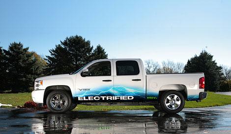 Компания VIA Motors представит модель на базе Chevrolet Silverado. Фото 1