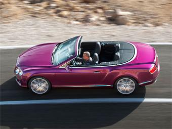 Самый быстрый Bentley Continental лишили крыши