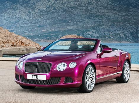Появились фотографии открытой версии Bentley Continental GT Speed. Фото 4
