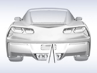 В Сеть попали изображения нового Chevrolet Corvette