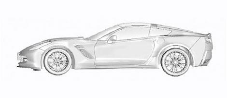 Иллюстрации расекретили салон купе и компоновку моторного отсека