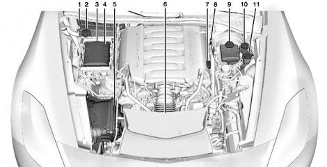 Иллюстрации расекретили салон купе и компоновку моторного отсека. Фото 2