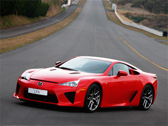 Lexus выпустит преемника суперкара LFA
