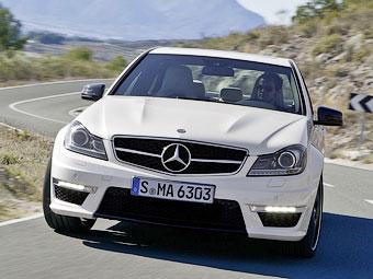 """""""Мерседес"""" откажется от 6,2-литровой """"восьмерки"""" на AMG-версии C-Class"""