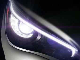 Компания Infiniti показала первое изображение новой модели