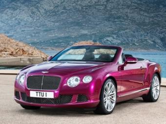Компания Bentley рассказала о самом быстром четырехместном кабриолете