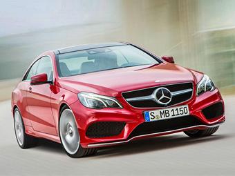 Mercedes-Benz обновил купе и кабриолет E-Class