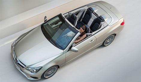 Вслед за седаном купе и кабриолеты Mercedes-Benz E-Class получили новые фары и передние бамперы