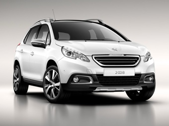 Компания Peugeot представила компактный кроссовер 2008