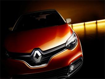 Компания Renault показала первое изображение нового кроссовера