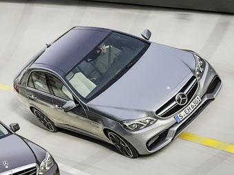 Появился первый снимок обновленного Mercedes-Benz E 63 AMG