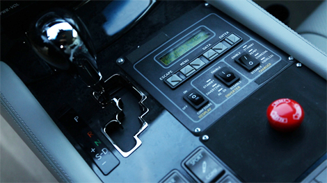Прототип системы представили на гибридном седане Lexus LS
