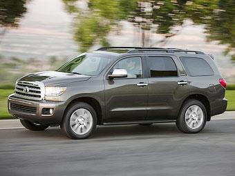 Американцы превратили Toyota Sequoia в роскошный броневик