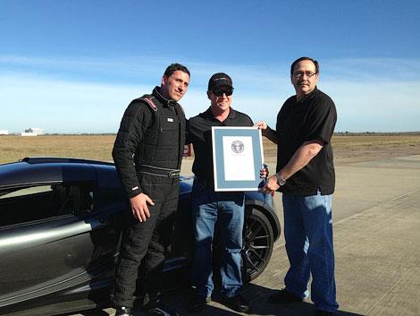 1200-сильное купе разогналось до 300 километров в час за 13,63 секунды
