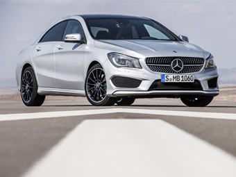 Mercedes-Benz показал мини-CLS