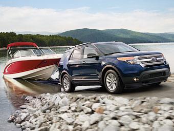 Ford привез в Россию доступный вариант Explorer