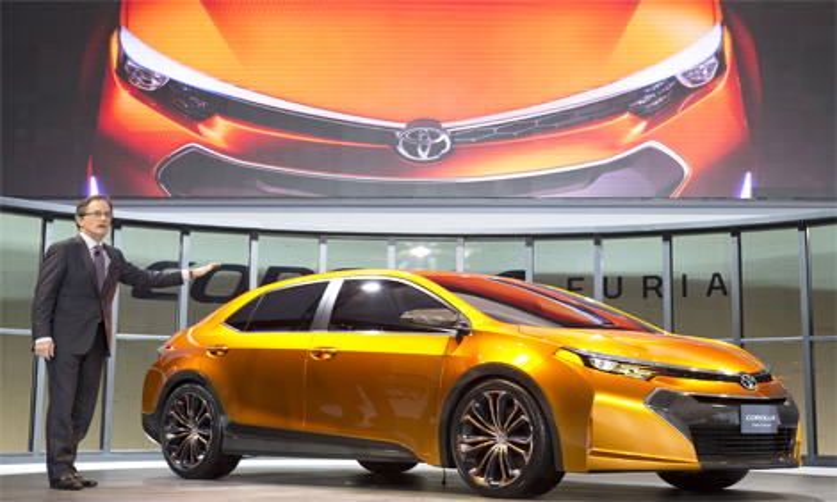 В Детройте дебютировал концепт-кар Toyota Corolla Furia