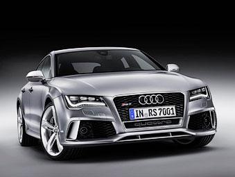 Хэтчбек Audi A7 получил 560-сильную RS-версию
