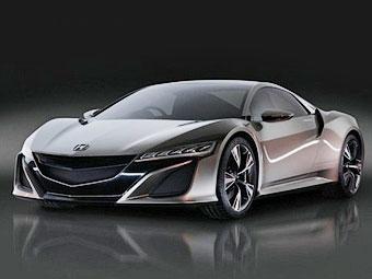 Появилось изображение интерьера суперкара Acura NSX
