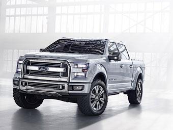 """""""Форд"""" продемонстрировал будущее своих пикапов"""