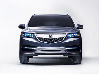 Следующий кроссовер Acura MDX станет технологичнее